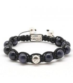 Single Gem - Blue sandstone bracelet