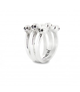 Mr Ribs - Sterling Silver Ring