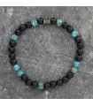 MINI matte Onyx and Turquoise of Arizona