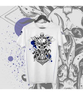 Limited edition T-shirt - Octopus Squirt blanc