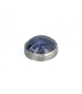 Sodalite - Ornament for Interchangeable Ring in Silver 925