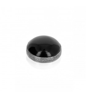 Onyx - Ornament for Interchangeable Ring in Silver 925