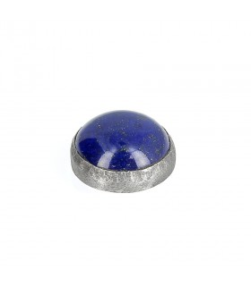 Lapis - Ornament for Interchangeable Ring in Silver 925