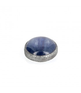 Kyanite - Ornament for Interchangeable Ring in Silver 925