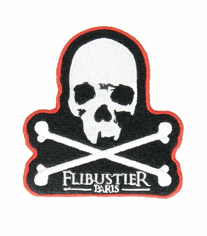 Patch Jolly Roger - Flibustier Paris