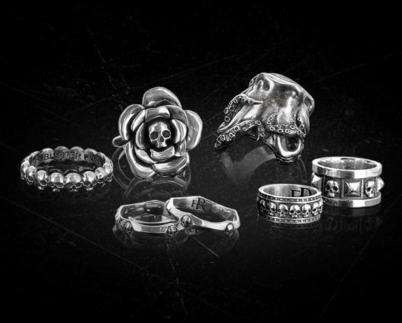 Rock Sterling Silver rings - Flibustier Paris