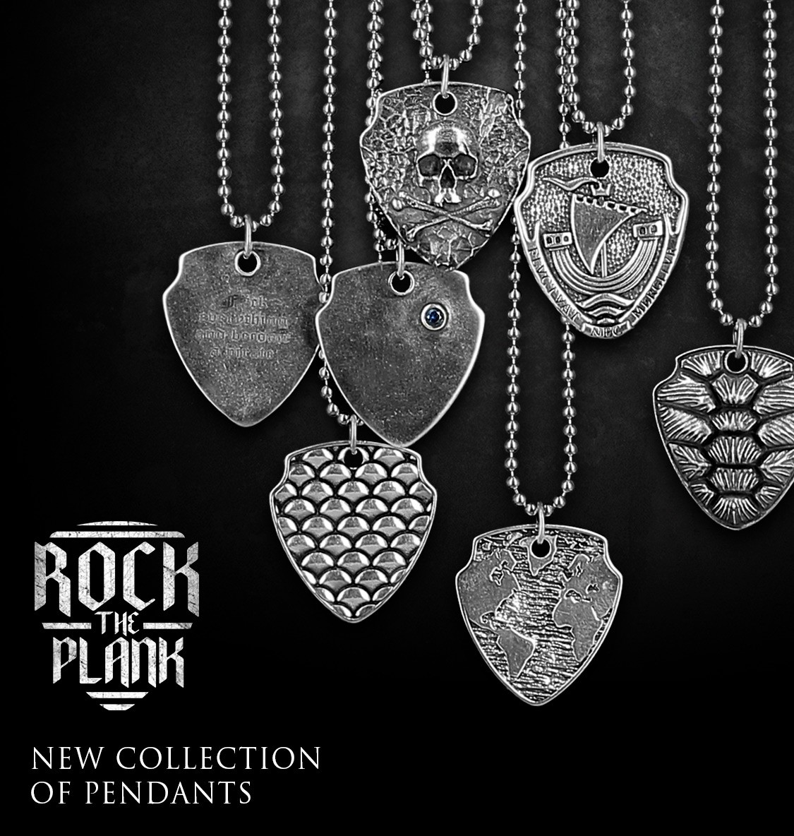 Rock the Plank - Pendants