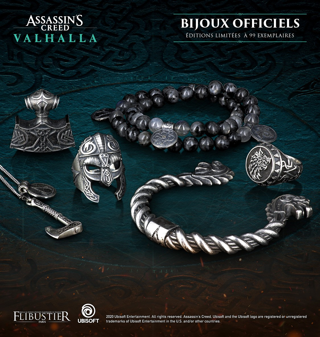 Bijoux officeils Assassin's Creed Valhalla