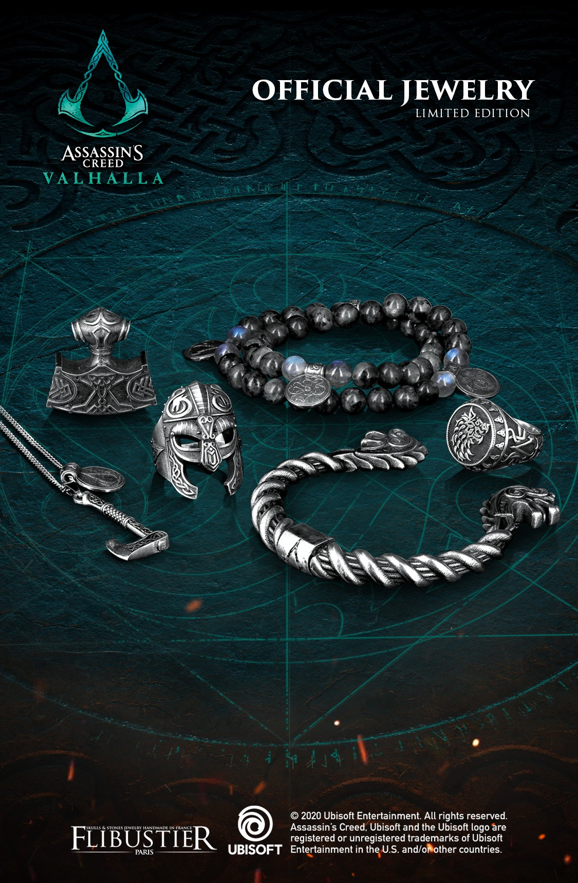 Assassin's Creed official jewels